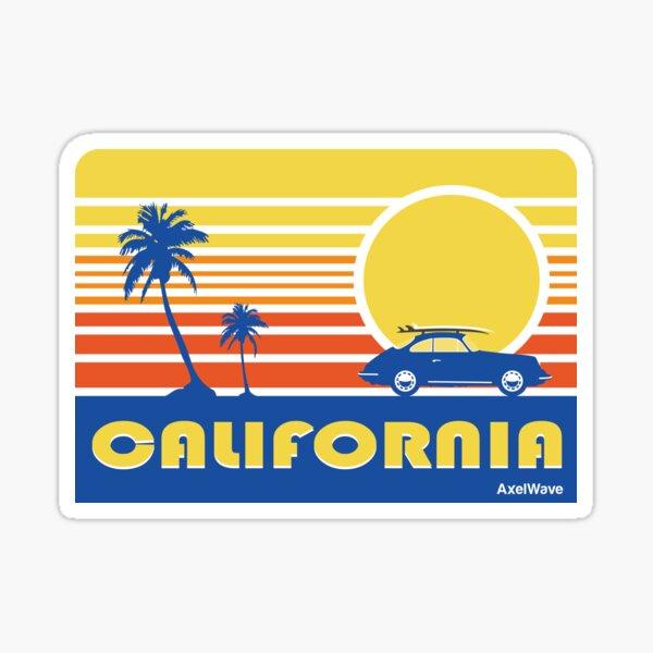 356 California Dream Sticker