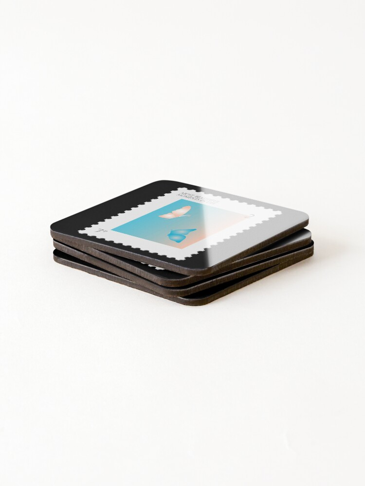 Alternate view of BTS Most Beautiful Moment Stamp Coasters (Set of 4)