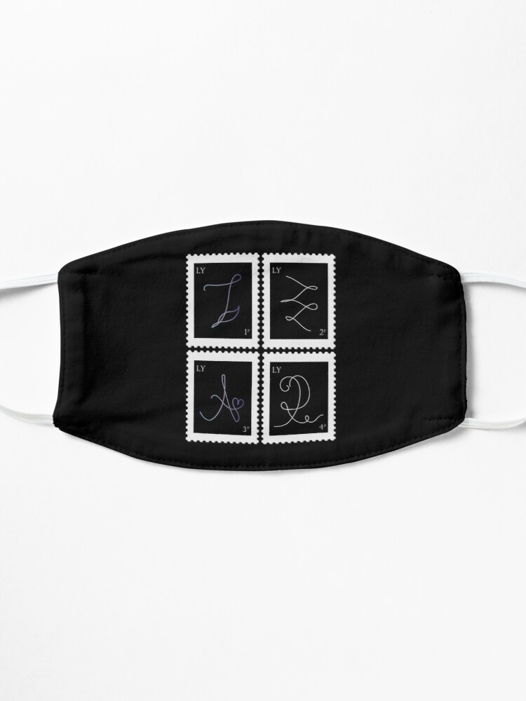 Alternate view of BTS Love Yourself Tear Stamp Mask
