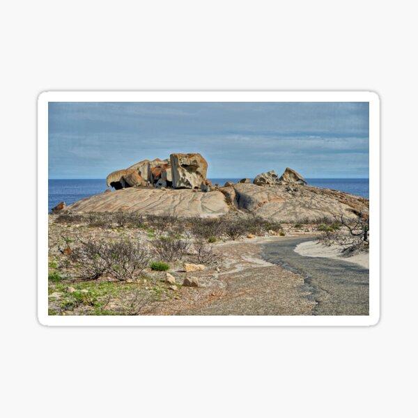 """Remarkable Rocks"" Kangaroo Island, South Australia Sticker"