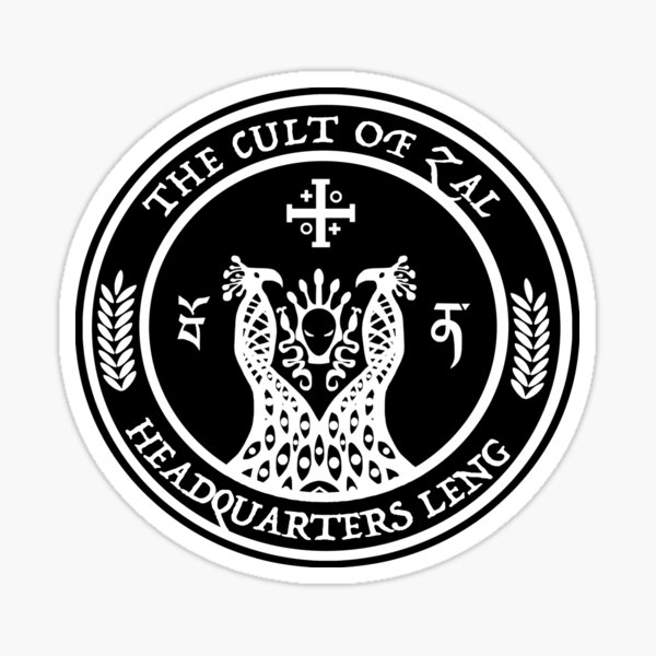 The Cult of ZAL Sticker