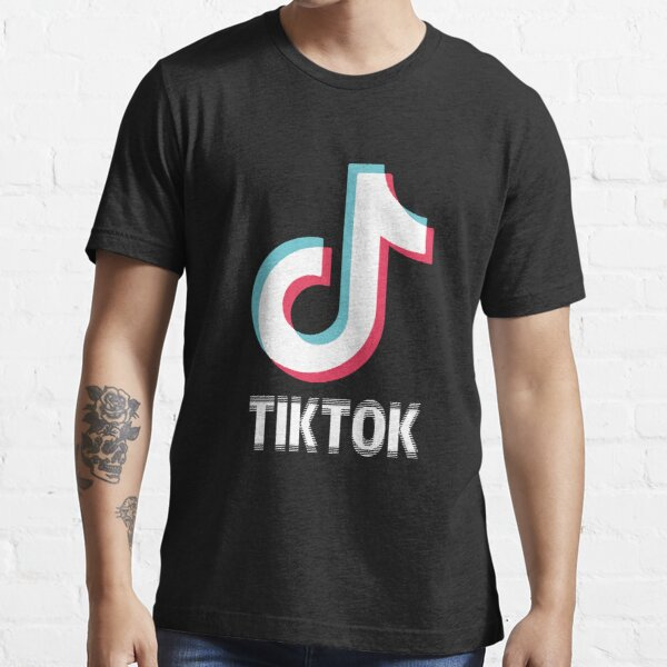 Blurry tik top logo  Essential T-Shirt