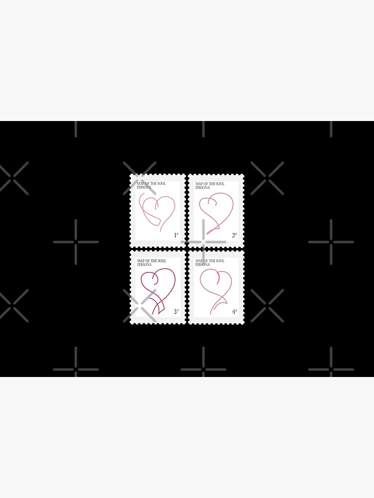 BTS Map of the Soul Persona Stamp by LondonKpopSt