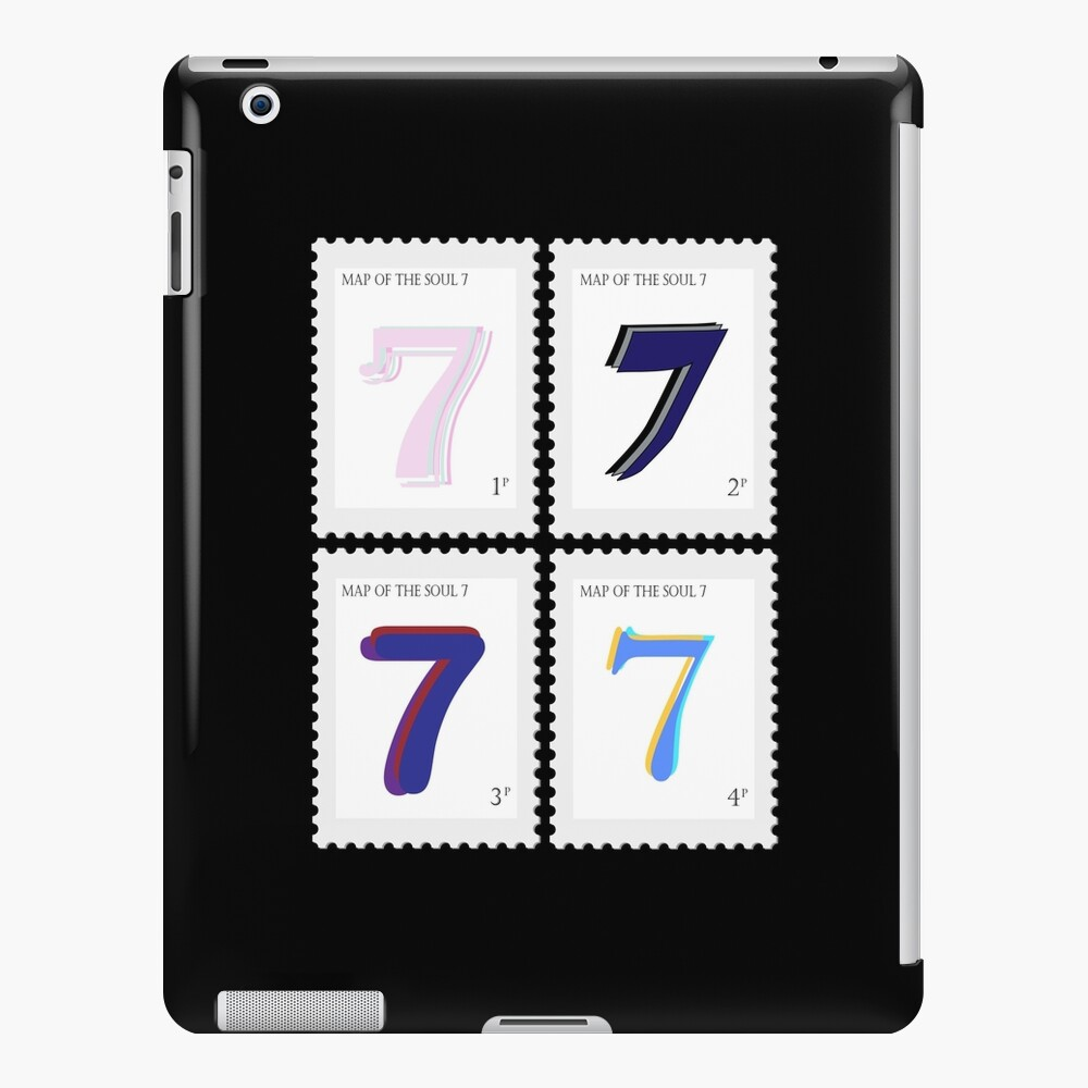 BTS Map of the Soul 7 Stamp iPad Case & Skin
