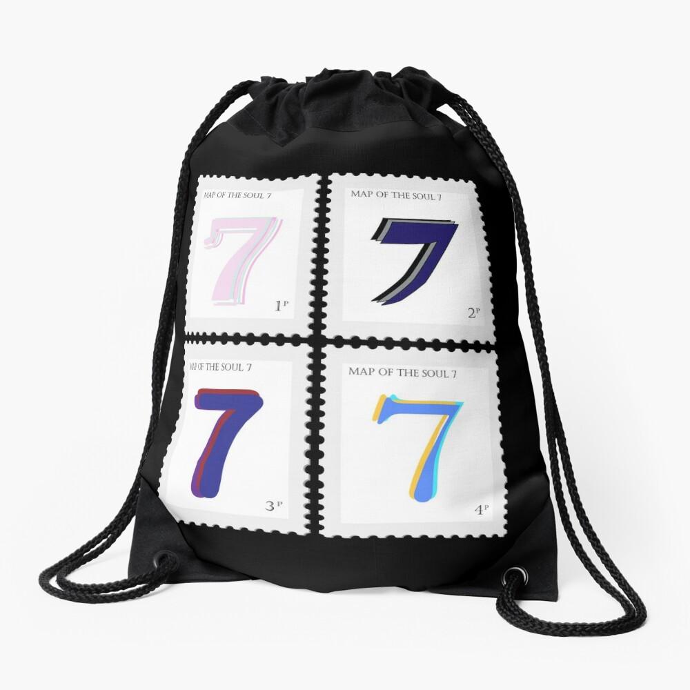 BTS Map of the Soul 7 Stamp Drawstring Bag
