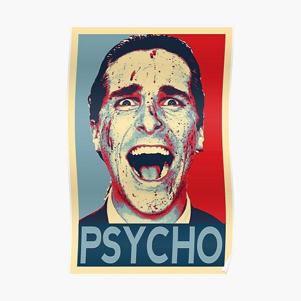 Patrick Bateman american psycho  Poster