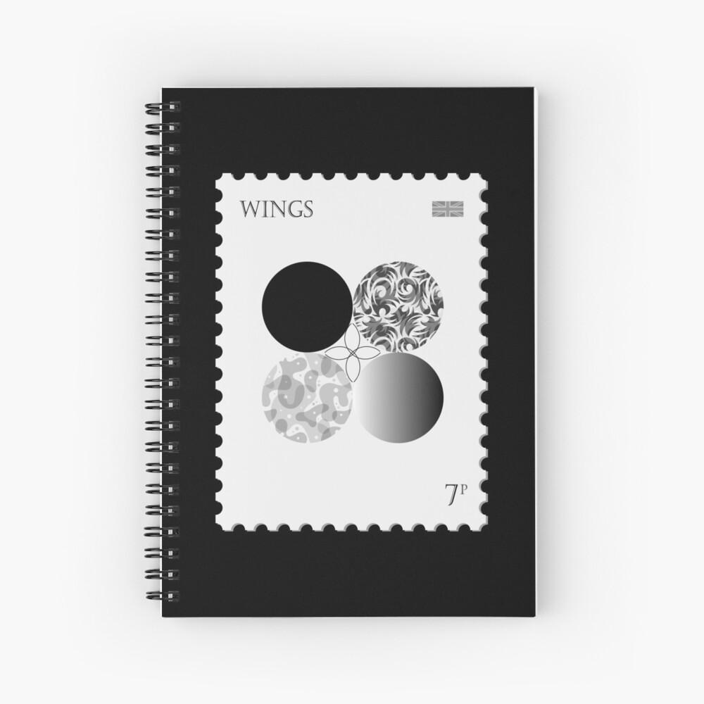 BTS Wings Stamp Spiral Notebook