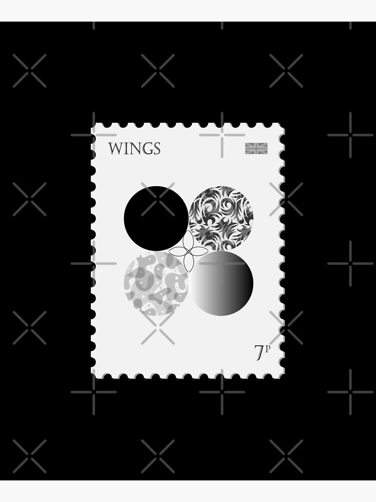 BTS Wings Stamp by LondonKpopSt