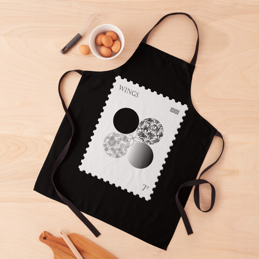 BTS Wings Stamp Apron