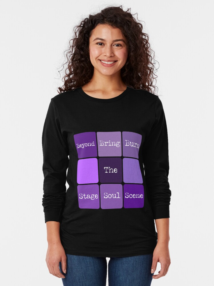 Alternate view of BTS Cube #btsconnect Long Sleeve T-Shirt