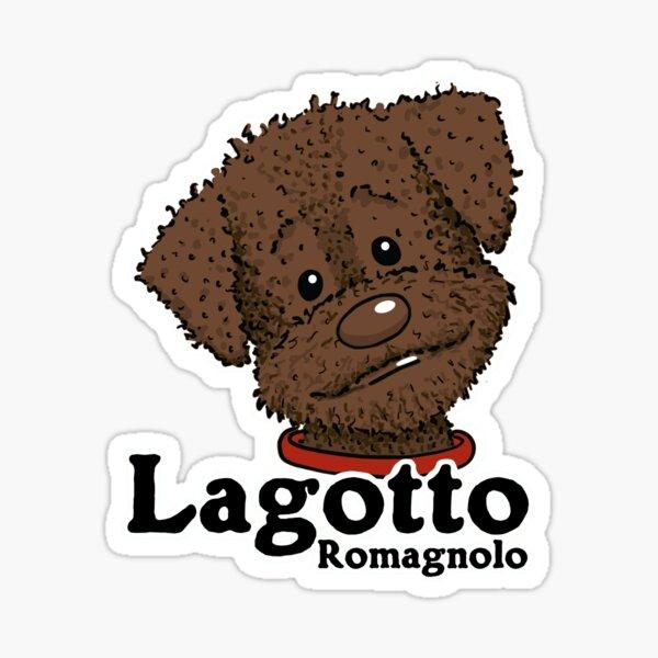 Lagotto Romagnolo braun Sticker