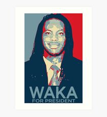 Waka flocka flame for president  (high quality) Art Print
