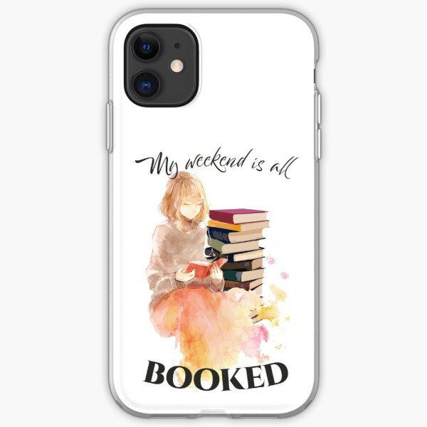 Booked Weekend iPhone Soft Case