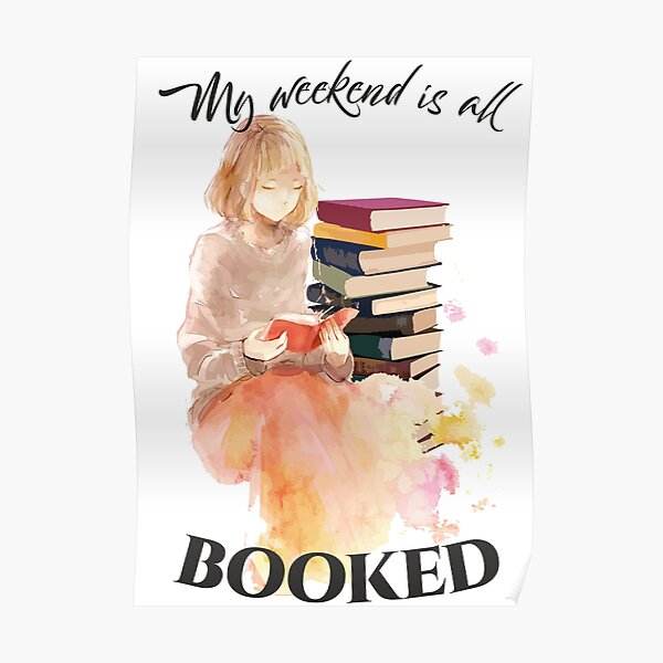 Booked Weekend Poster