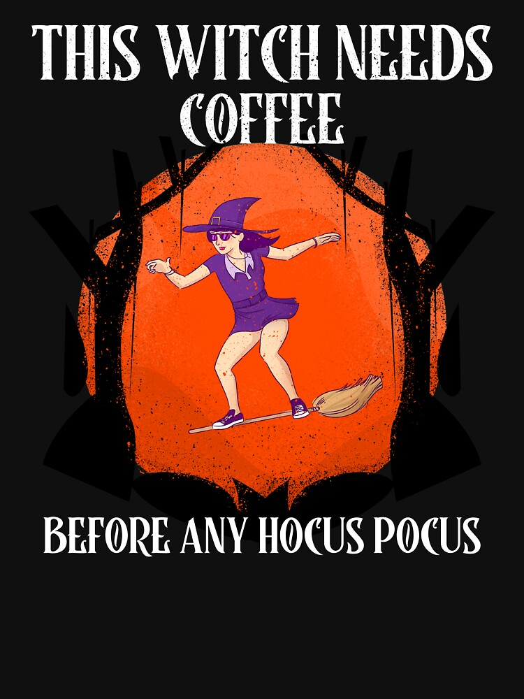 This Witch Needs Coffee by ds-4
