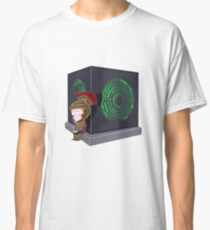 Waiting for a mad girl with red hair Classic T-Shirt