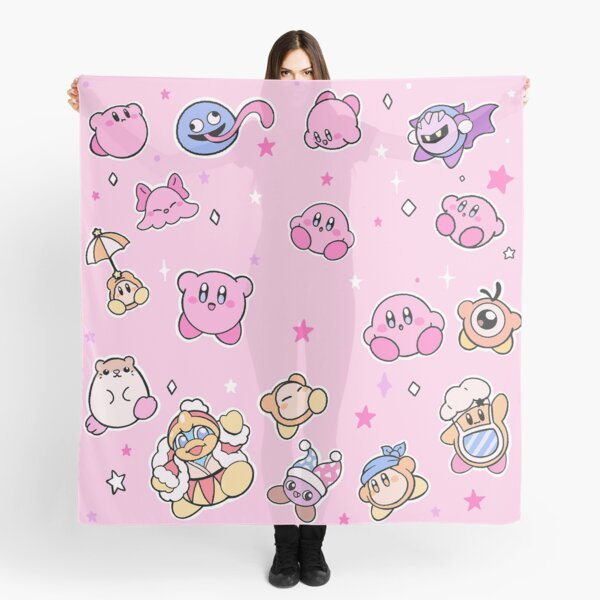Kirby and Super Star Friends Scarf
