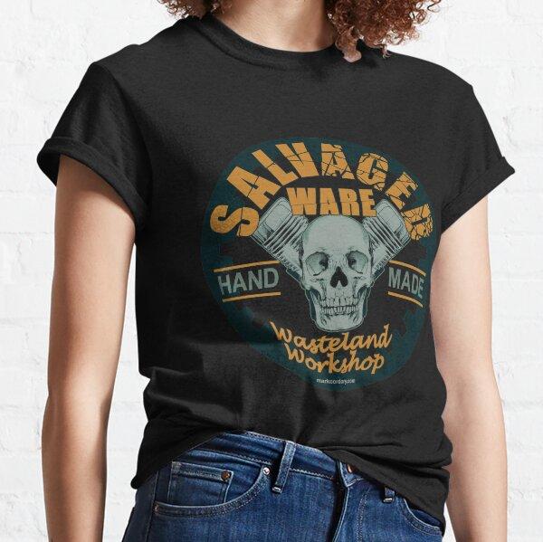 SALVAGED Ware 'Wasteland Workshop' design Classic T-Shirt