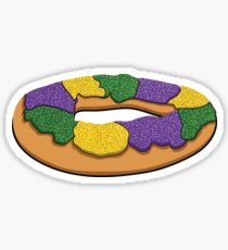 King Cake Sticker