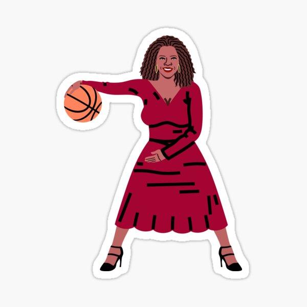 Balling Oprah Sticker