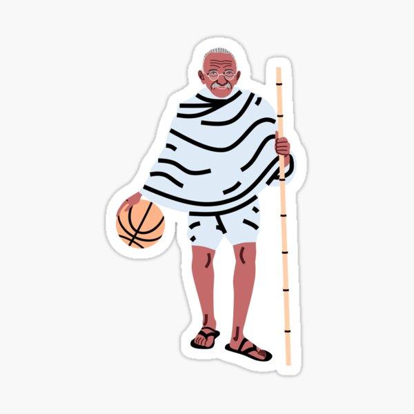 Balling Gandhi Sticker