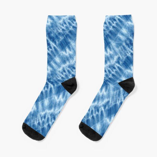 Shibori Japanese Style Tie Dye 6 Socks