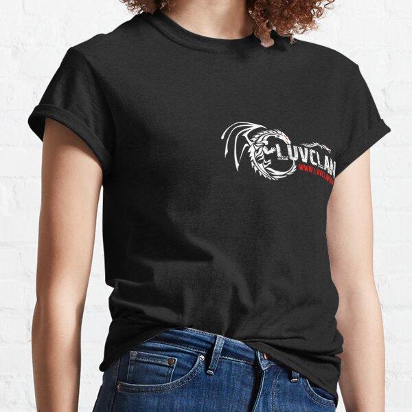 #LuVclan White Classic T-Shirt