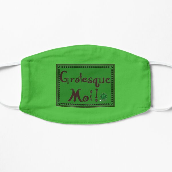 Grotesque Moi! Green Banner Mask