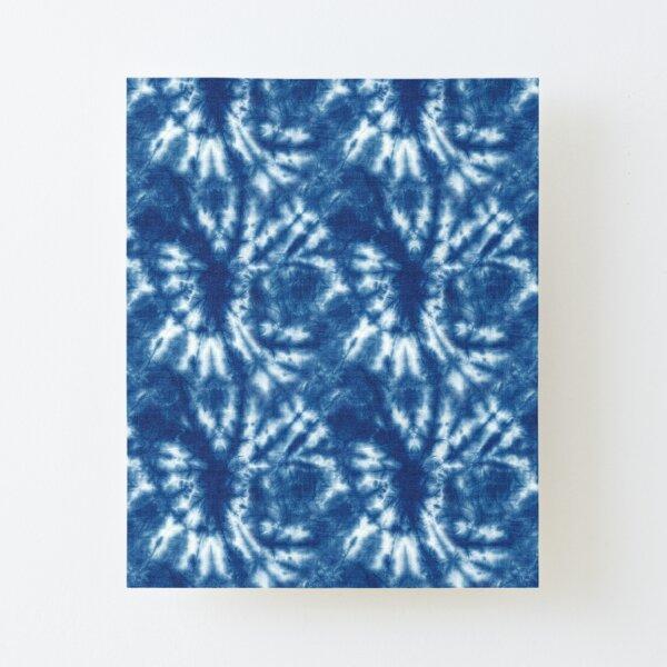Shibori Japanese Style Tie Dye 10 Canvas Mounted Print