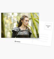 The 100 - Lexa Postcards