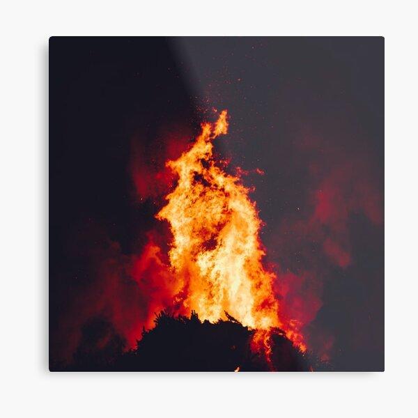 Eternal Flames Metal Print