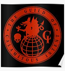 The Guild of Calamitous Intent - The Venture Brothers Poster