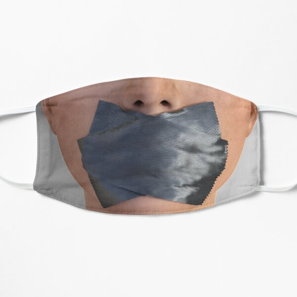 Can't Speak Flat Mask