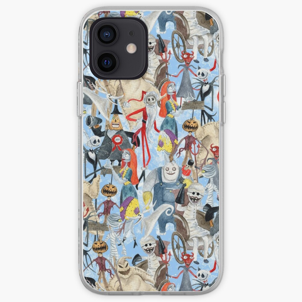 Nightmare Before Christmas Halloweentown iPhone Case & Cover