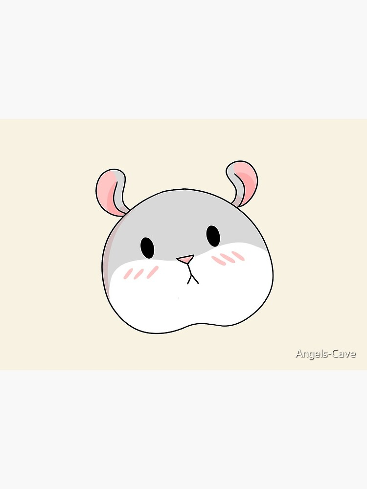 Tam the Tiny Hamster, blushing face. by Angels-Cave