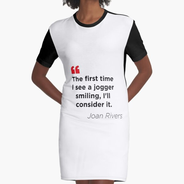 Jogging can be so Painful Graphic T-Shirt Dress