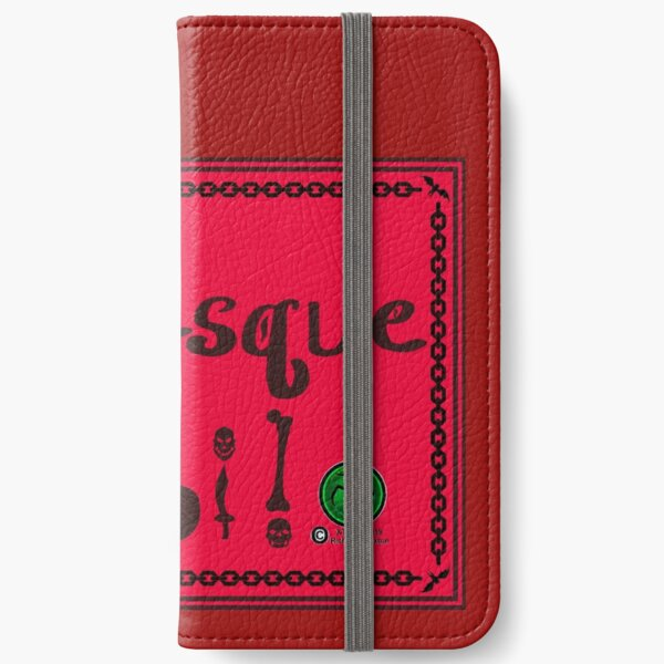 Grotesque Moi! Red Banner iPhone Wallet