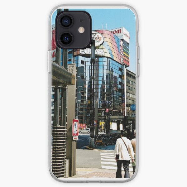 Ginza in the Spring. iPhone Soft Case