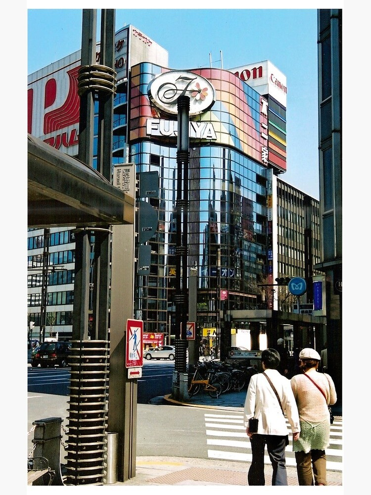Ginza in the Spring. by Angels-Cave