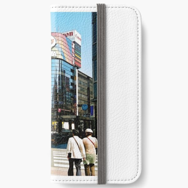 Ginza in the Spring. iPhone Wallet