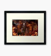 TVD - Damon Framed Print