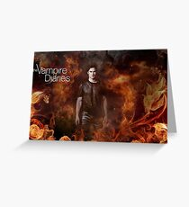 TVD - Damon Greeting Card