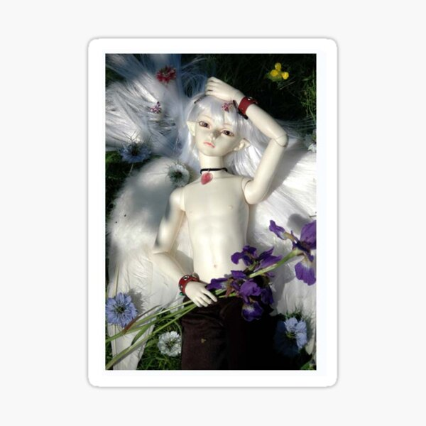 Angel Elf. Sticker