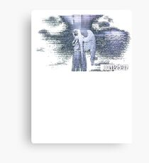 Don't Blink - Weeping Angel Canvas Print