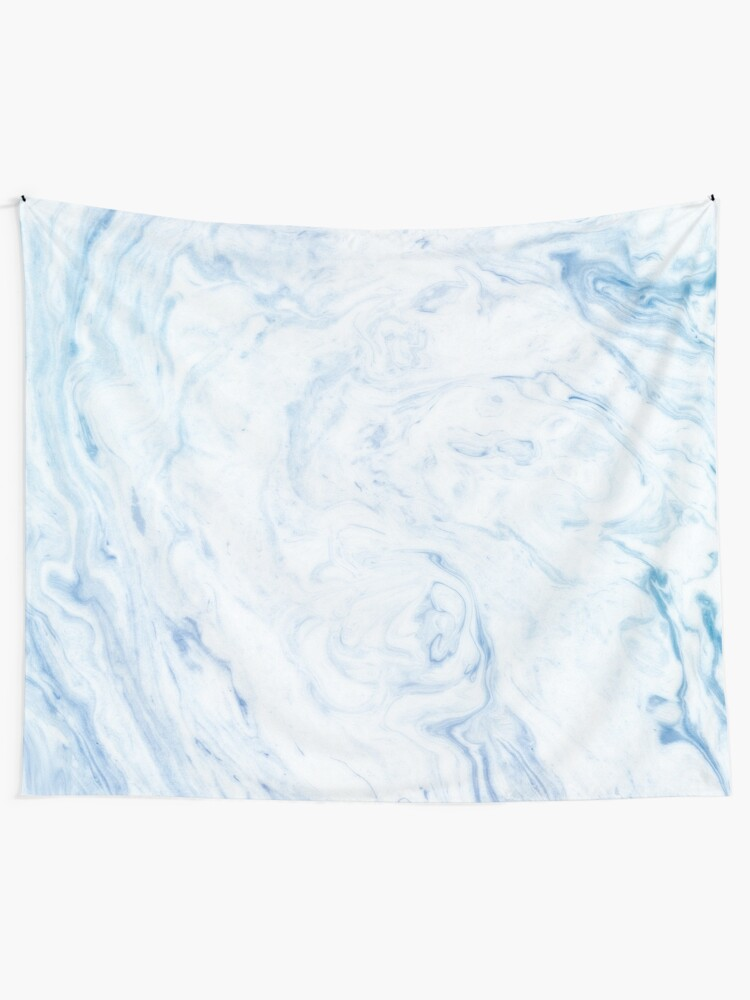 Alternate view of Blue Marble Tapestry