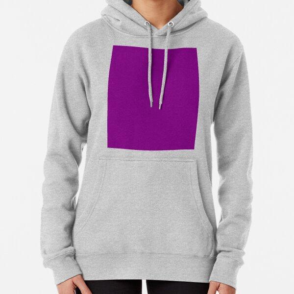 Purple Violet Pullover Hoodie