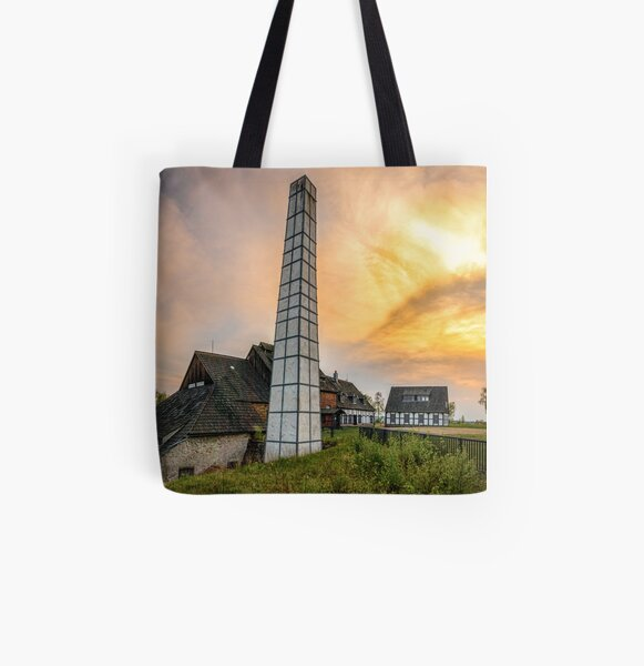"Sunset at the ""Alte Elisabeth"" treasure trove All Over Print Tote Bag"