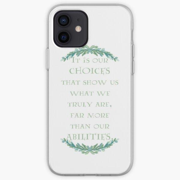 Albus Dumbledore Quote iPhone Soft Case