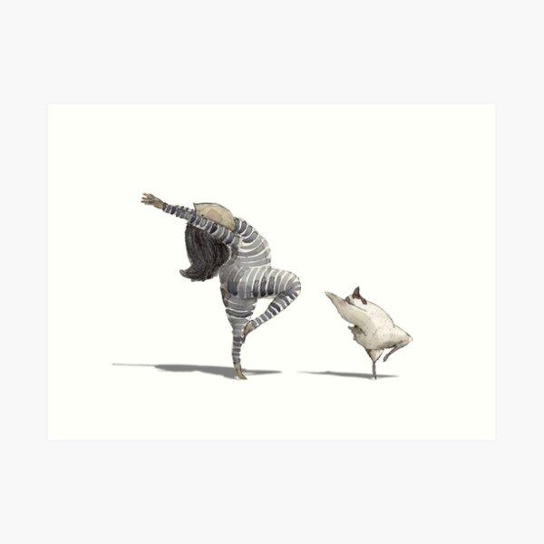 Friendship on the Dance Floor  Art Print