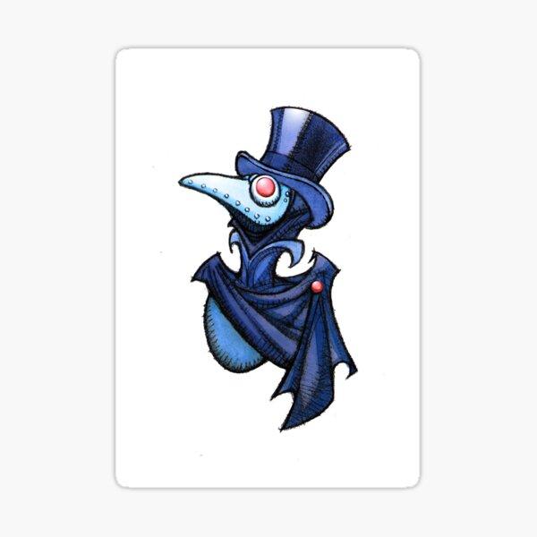 Littlest Plague Doctor Thadious  Sticker